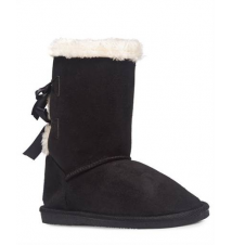 Bow Back Cozy Boots The Wet Seal