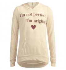 FULL TILT I'm Not Perfect Girls Lightweight Hoodie Tilly's