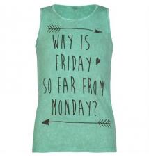 FULL TILT Friday To Monday Girls Tank Tilly's