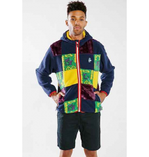 Chums Mammoth Patchwork Jacket Urban Outfitters