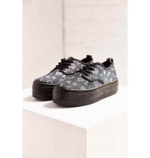 Eleven Paris Sky Symbol Platform Sneaker Urban Outfitters