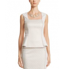 Jacquard Sleeveless Top White House/Black Market