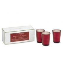 Williams-Sonoma Cinnamon Spice Votive Candles, Set of 3 Williams-Sonoma