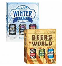 WINTER BREWS & BEERS OF THE WORLD 9-PACKS World Market