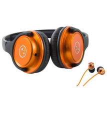 Able Planet - Musicians' Choice On-Ear Headphones and SI170 Series Earbud Headphones - Orange Best Buy