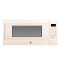 GE Profile Series - Profile Series 1.1 Cu. Ft. Mid-Size Microwave - Bisque Best Buy