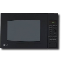 GE - Profile 1.5 Cu. Ft. Mid-Size Microwave - Black Best Buy