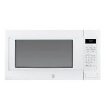 General Electric - Profile Series 2.2 Cu. Ft. Full-Size Microwave - White Best Buy