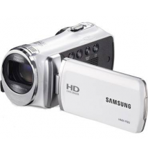 Samsung F90BN 52X Optimal Zoom HD Camcorder - White Fry's Electronics