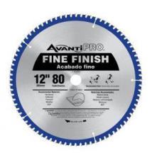 Avanti Pro 12 in. x 80 Tooth Fine-Finish Circular Saw Blade Home Depot