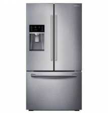 Samsung 28.07 cu. ft. French Door Refrigerator in Stainless Steel Home Depot