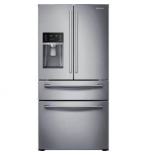 Samsung 28.15 cu. ft. French Door Refrigerator in Stainless Steel Home Depot