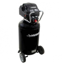 Husky 33 gal. Quiet Portable Electric Air Compressor Home Depot