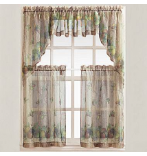 Autumn Rod-Pocket Kitchen Curtains JCPenney