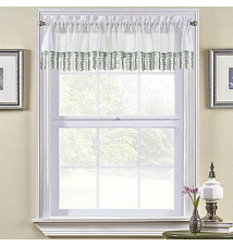 Bristol Rod-Pocket Tailored Valance JCPenney