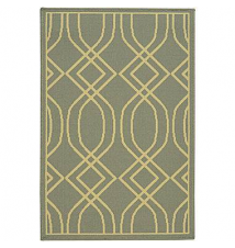 Wave Geo Washable Rectangular Rug JCPenney