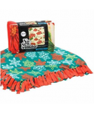 50% off No-Sew Fleece Throw & ..