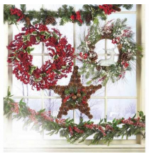 60% off Christmas Floral Wreaths & Garlands Jo-Ann Fabric And Craft Store