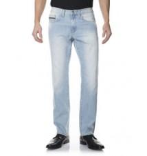 Slim Straight Fit Jean, Light White Wash