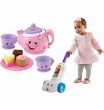 Laugh & Learn Smart Stages Vacuum or Say Please Tea Set Kmart