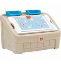 Step2 2-in-1 Toy Box and Art Lid Kmart