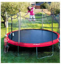 15' Trampoline with enclosure and anchor kit Kmart