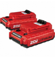 Porter Cable 2-Pack 20-Volt MAX Lithium Power Tool Batteries Lowe's