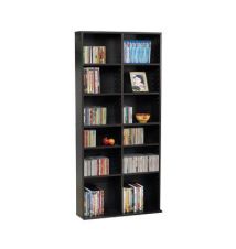 Atlantic Oskar 464 Media Cabinet, Espresso Finish OfficeMax