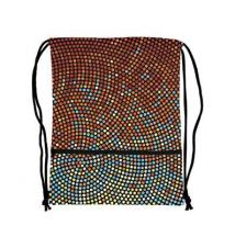 Drawstring bag, 19.5