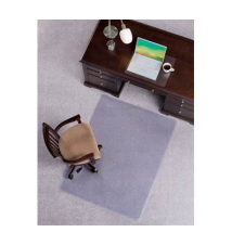 ES Robbins Plush Chairmat, Rectangle OfficeMax