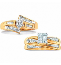 1/4 ct. t.w.† certified diamond bridal in 10 kt. gold Kmart