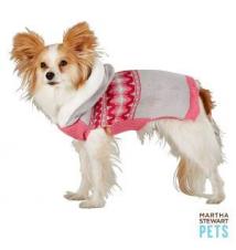 Martha Stewart Pets Fairisle Hoodie PetSmart