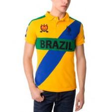 Slim Fit Brazil Polo Shirt