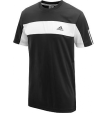 adidas Men's Sequencials Galaxy Short-Sleeve Tennis T-Shirt Sports Authority