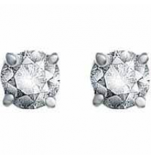 1/4-ct. T.W. diamond solitaire earrings Kohl's