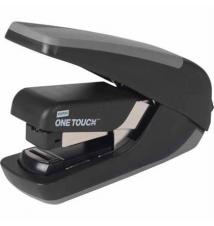 Staples® One-Touch™ CX-4 Compact Flat-Stack Quarter Strip Stapler, 20 Sheet Capacity, Black Staples
