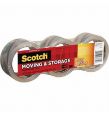 Scotch® Moving and Storage Tape, Clear, 1.88