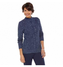 Croft & Barrow® mockneck sweater for petites Kohl's