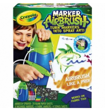 Crayola® MarkerAirbrush Set Staples