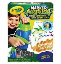 Crayola® MarkerAirbrush Set Staples