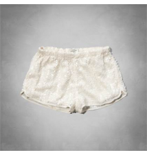 A&F Sequin Drapey Shorts Abercrombie & Fitch