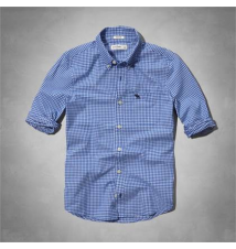 classic checked shirt Abercrombie Kids
