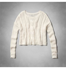 cozy cable sweater Abercrombie Kids