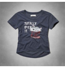 cute cat shine graphic tee Abercrombie Kids