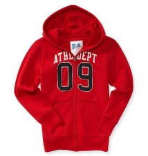 Kids' Athletic 09 Full-Zip Hoodie Aeropostale