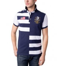 125th Anniversary Slim Fit Stripe Polo Shirt