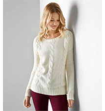 AEO Cable Beaded Sweater American Eagle