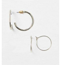 AEO Hoop Earring Duo American Eagle