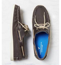 AEO Canvas Boat Shoe American Eagle