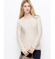 Petite Elliptical Stitch Sweater Ann Taylor